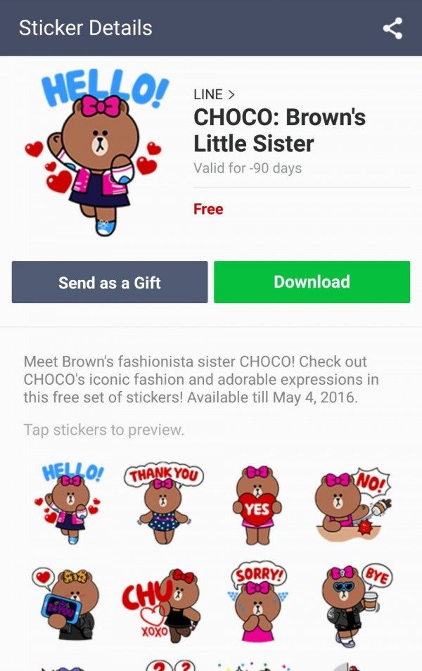 line-stickers-free-25-choco-browns-little-sister-1